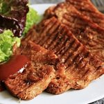 Spicy Soya Barbecue Steaks