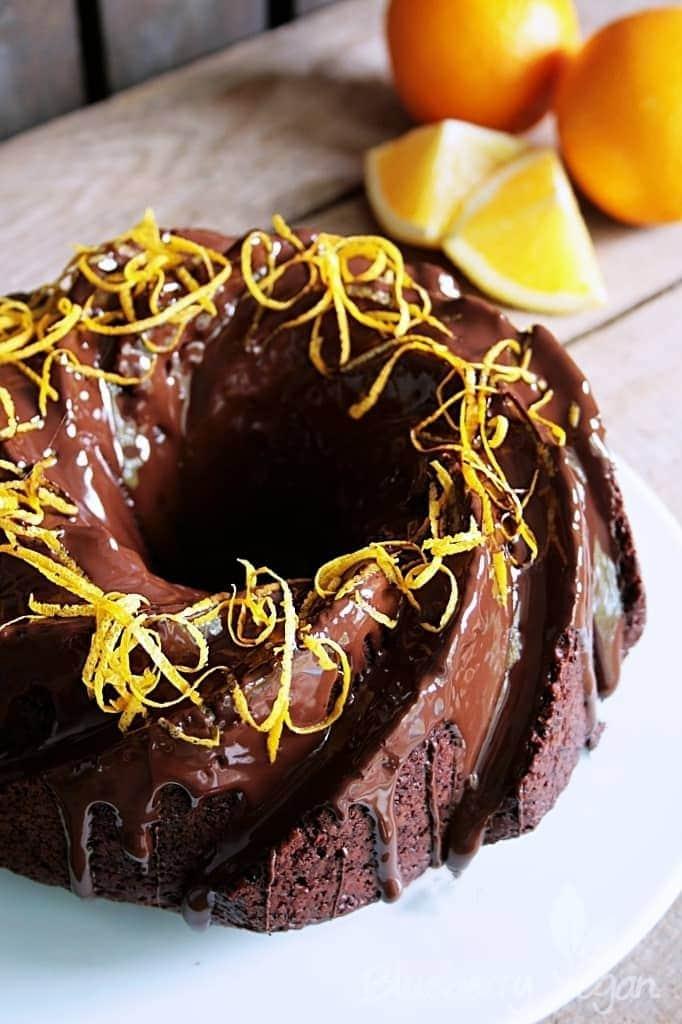 Leckerer Schoko-Orangen-Kuchen