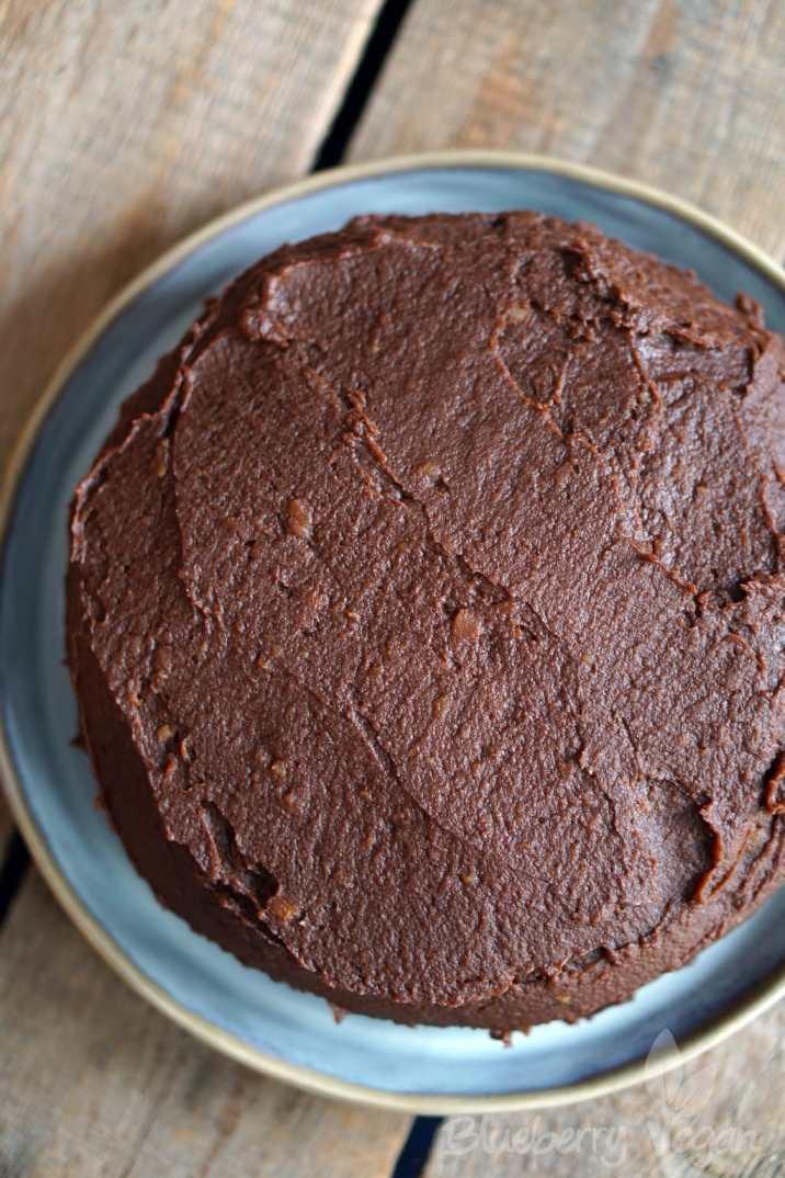 Sueßkartoffel Schokoladenkuchen - Sweet Potato Chocolate Cake Vegan_DSC03627