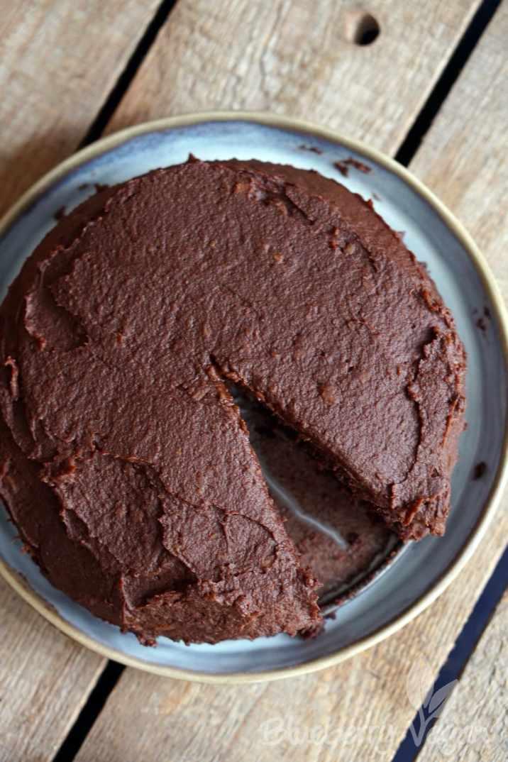 Sueßkartoffel Schokoladenkuchen - Sweet Potato Chocolate Cake Vegan_DSC03689