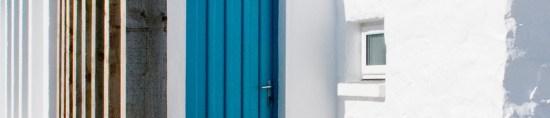 cottage door header