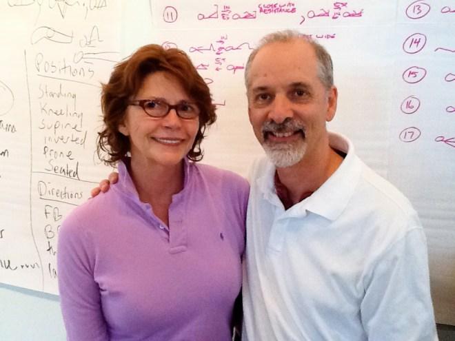 Annelise and Viniyoga Director Gary Kraftsow