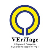 Logo progetto VERITAGE: Integrated European Cultural Heritage for VET