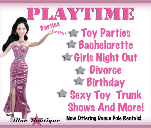 Utah Girls Night Out Blue Boutiques Playtime