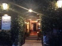 Hotel Maela entrance
