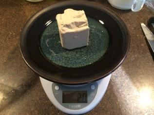 Cake yeast