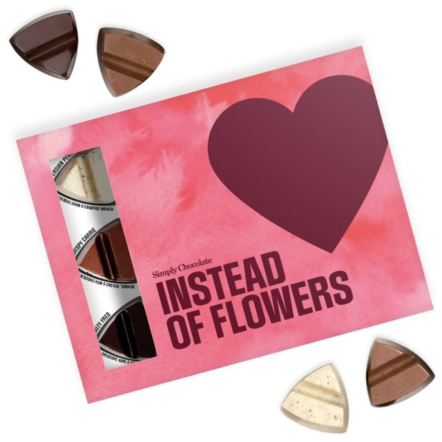 Chokladask - Instead of flowers Image