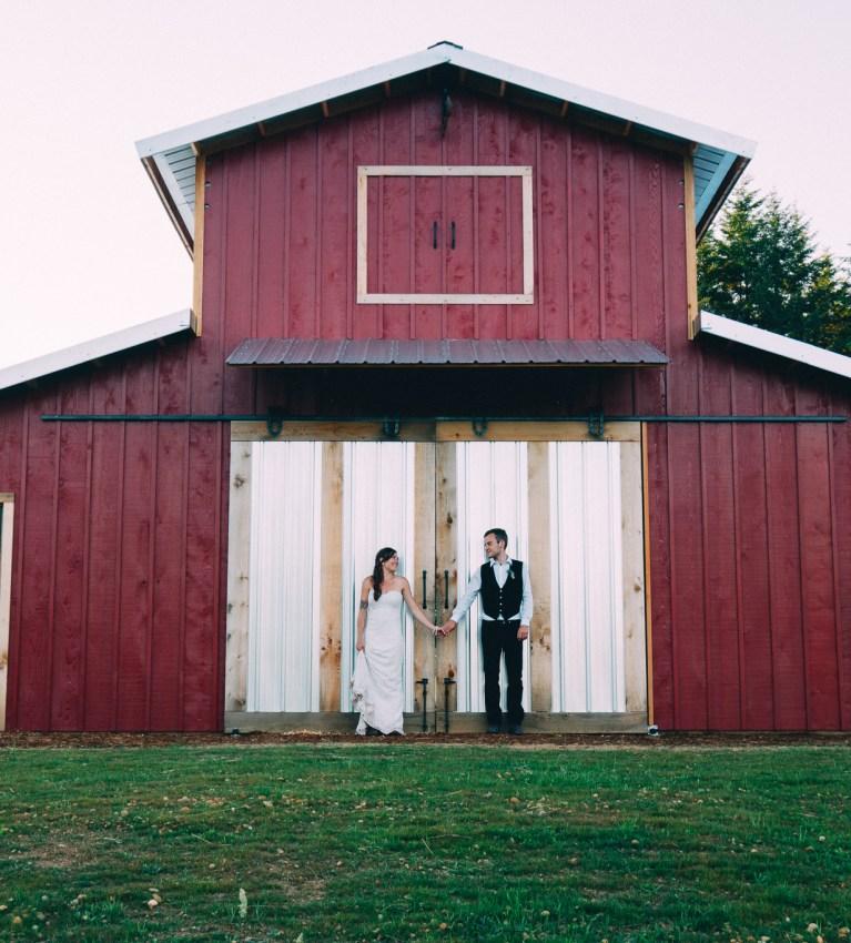 Sam and Dillon's Backyard Wedding // McCleary, Washington