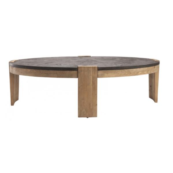 table basse pierre bleue expo