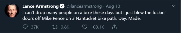 Lance Armstrong Ratio