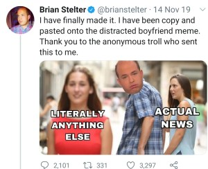 Stelter Tries to Meme Ratio