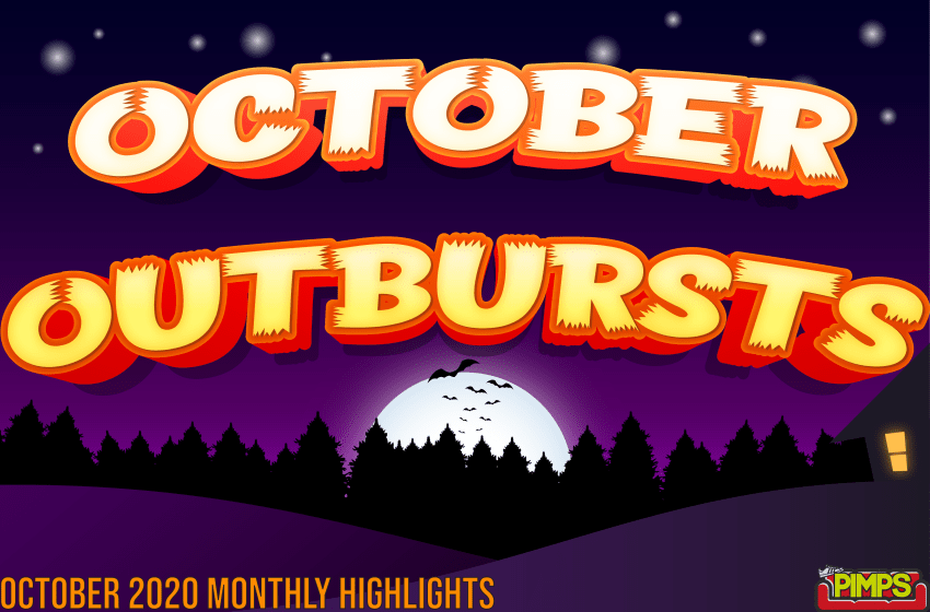 2020 Monthly Highlights: October Outbursts