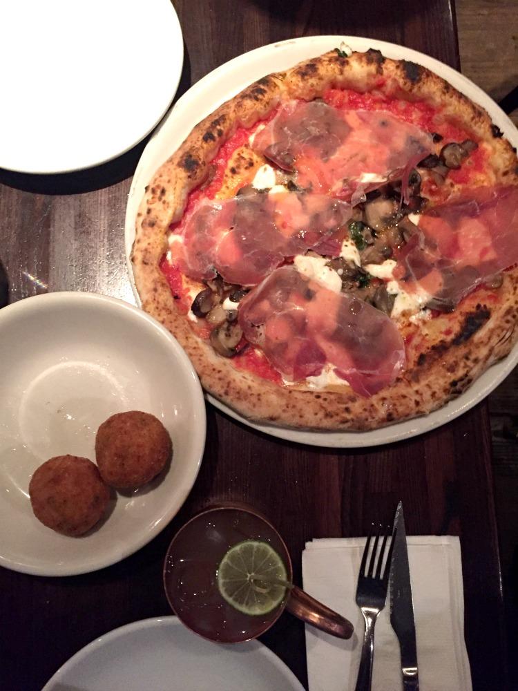 Margarita Pizza from Don Antonio NYC