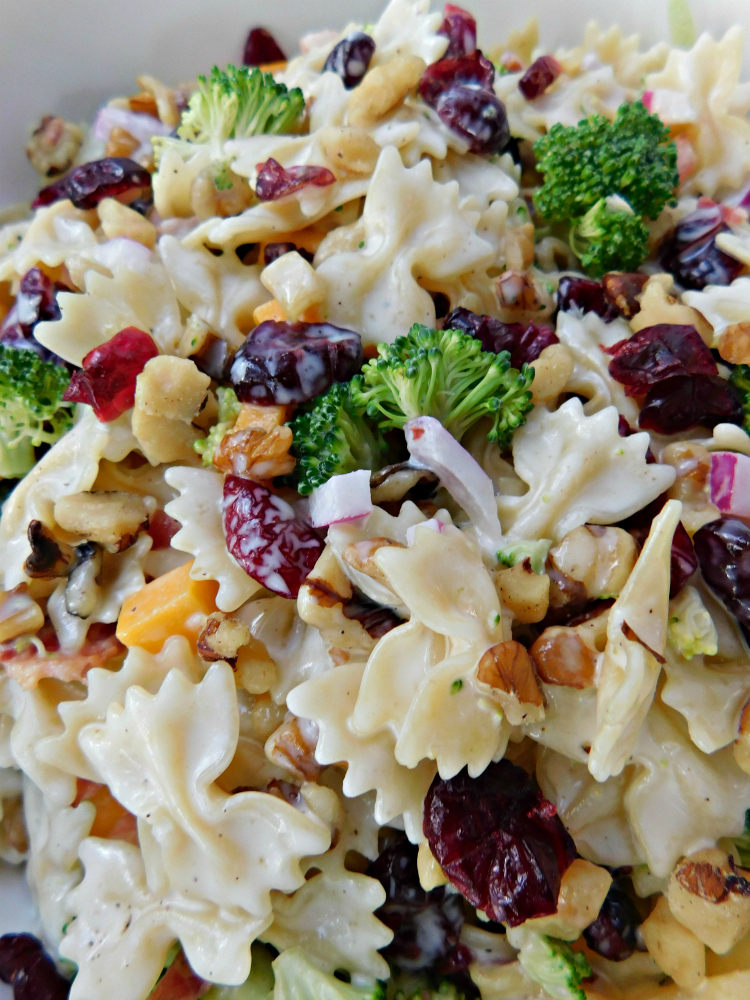 Southern Broccoli Pasta Salad