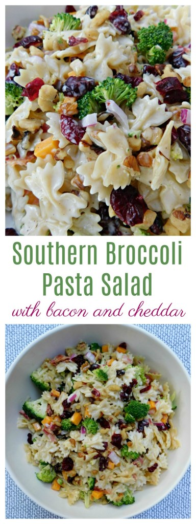 Southern Broccoli Pasta Salad
