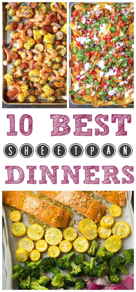 Round Up: 10 Best Sheet Pan Dinners