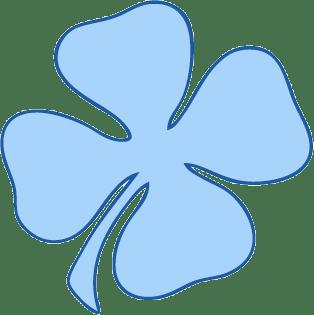 Les chanceux l'ont bleu - Enigme Logique, Qui suis-je ? Clover-only-CLI