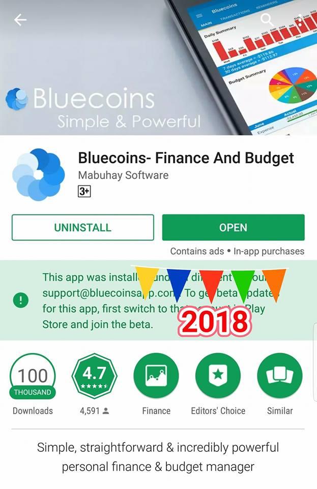 Bluecoins- Google's Editor's Choice 2018! - Bluecoins