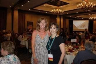 Krista Soukup and Spur-award winning author Nancy Plain
