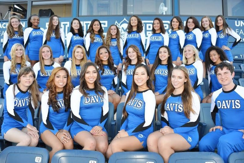 Eight cheerleaders quit the team Thursday over complaints of bullying and lack of response from administration.