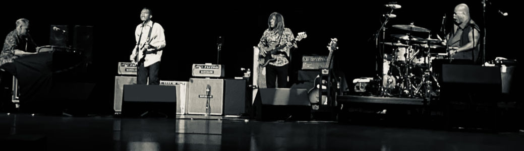 Onstage with Robert Cray Band, August 2021