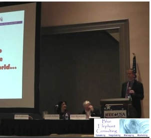 Dr. Jim Anderson Delivers The Keynote At The 2012 IEEE USA Meeting