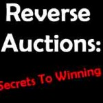 You can win a reverse auction -- if you know the secrets!