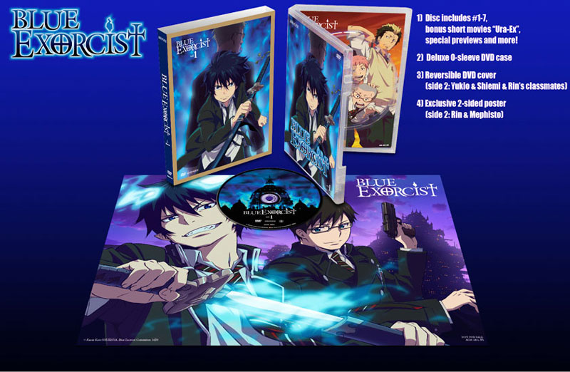 blue exorcist us official anime trailer and news aniplex