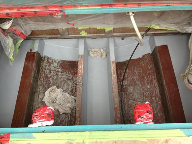 tollycraft-bilge-prepped-for-electric-boat-motors