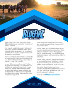 BlueFire Press Release - 2017