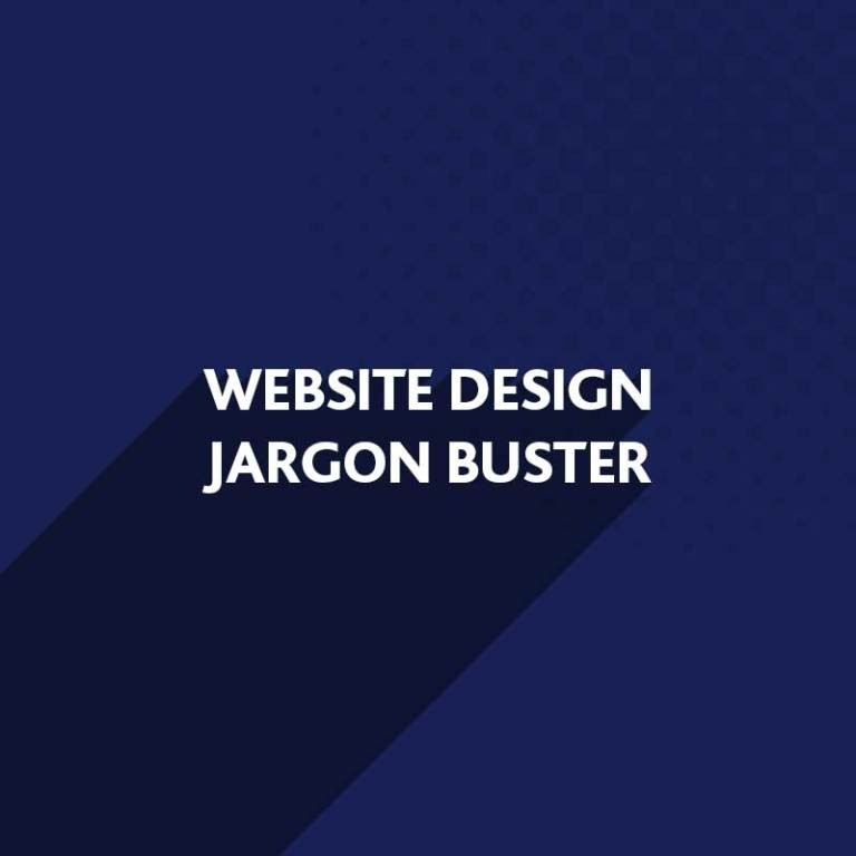 Website Design Jargon Buster