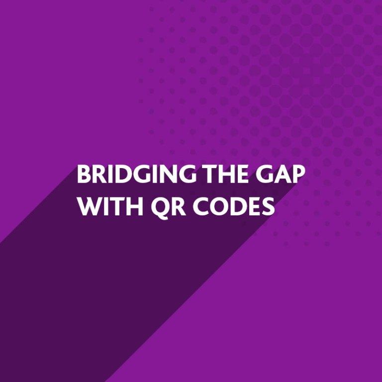 Bridging the print gap with QR Codes