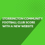 Storrington Community Football Club score with a new website