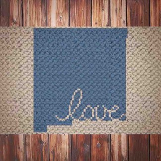 New Mexico Love C2C Crochet Pattern
