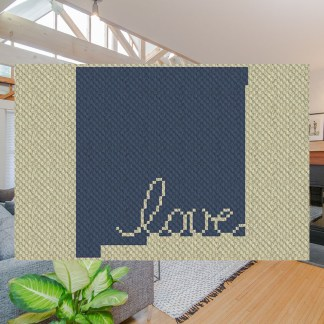 New Mexico Love C2C Crochet Pattern Corner to Corner