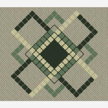 Simplicity C2C King Afghan Crochet Pattern