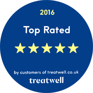 Treatwell 5 star review
