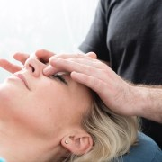 Pressure point facial massage