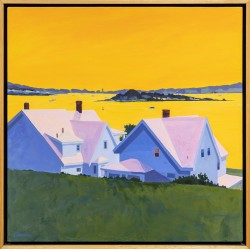 Gloucester, Above the Harbor (Yellow)