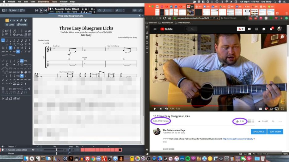 Bluegrass Guitar Essentials Sample Videos