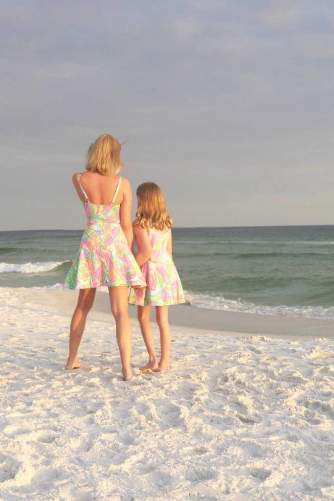 Mommy and Daughter Lilly Pulitzer dress for girls.
