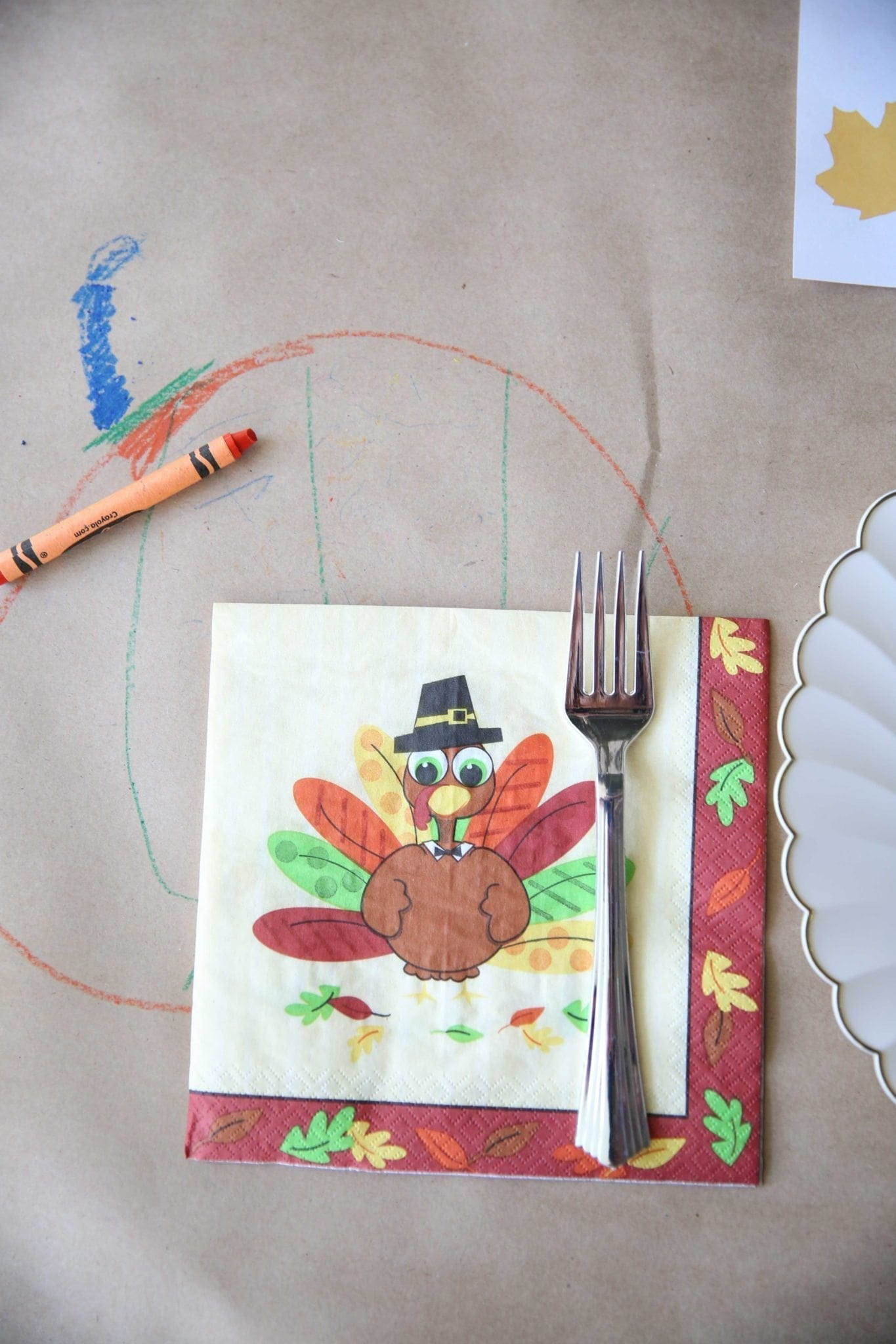 butcher paper for kids tablecloth for thanksgiving dinner