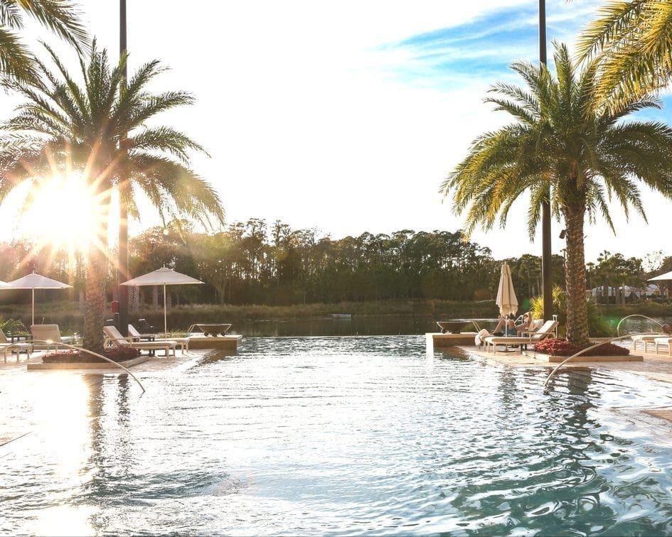 Four Seasons Orlando Review with adult only pool