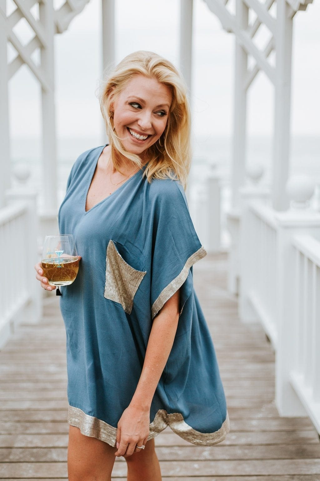 Kelly Page. bluegraygal for Mud Pie clothing.
