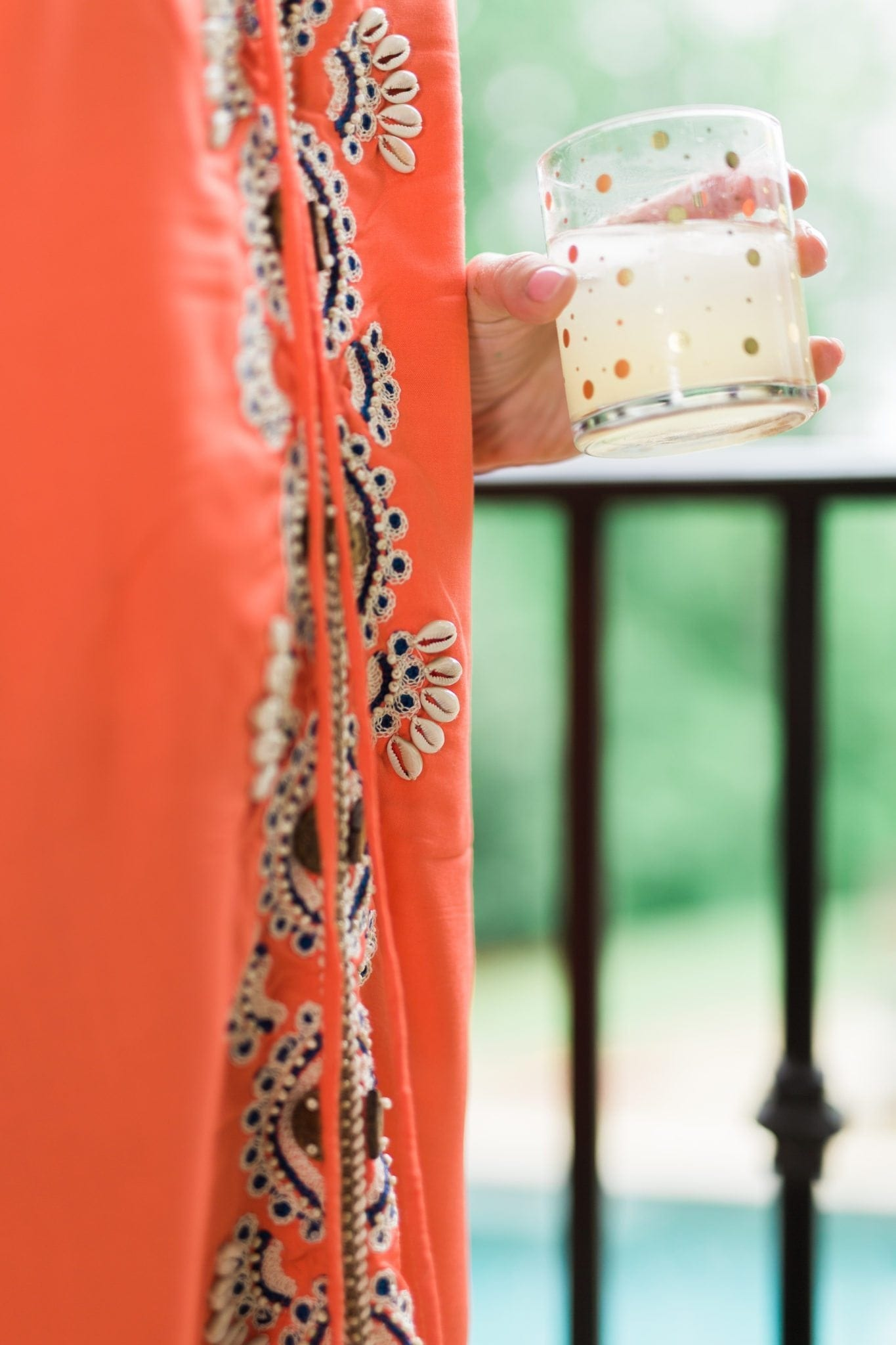 Coral beach cover up dresses