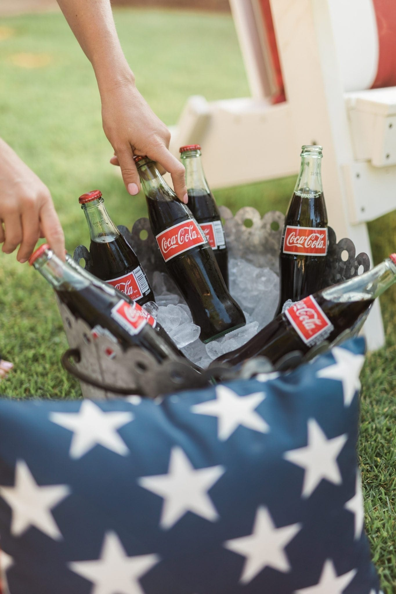 What to drink at an outdoor party.