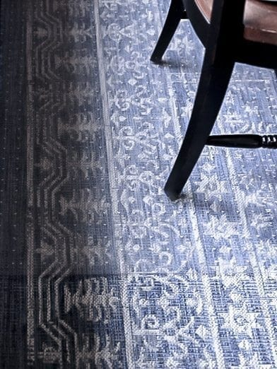 Tricks to keep kitchen floor clean. plastic rug under dining table