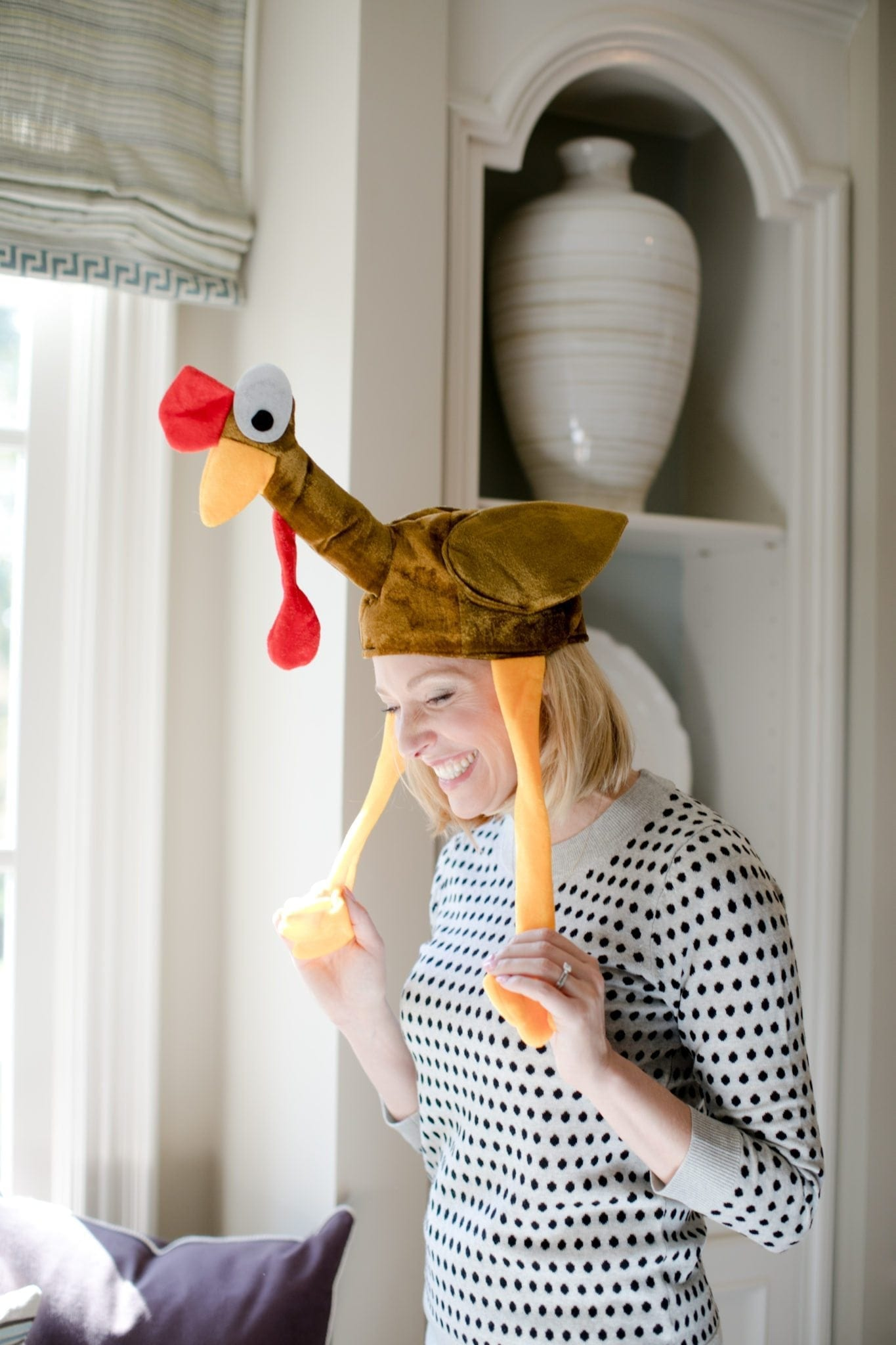 Thanksgiving Turkey Hat. What to wear to a turkey trot!