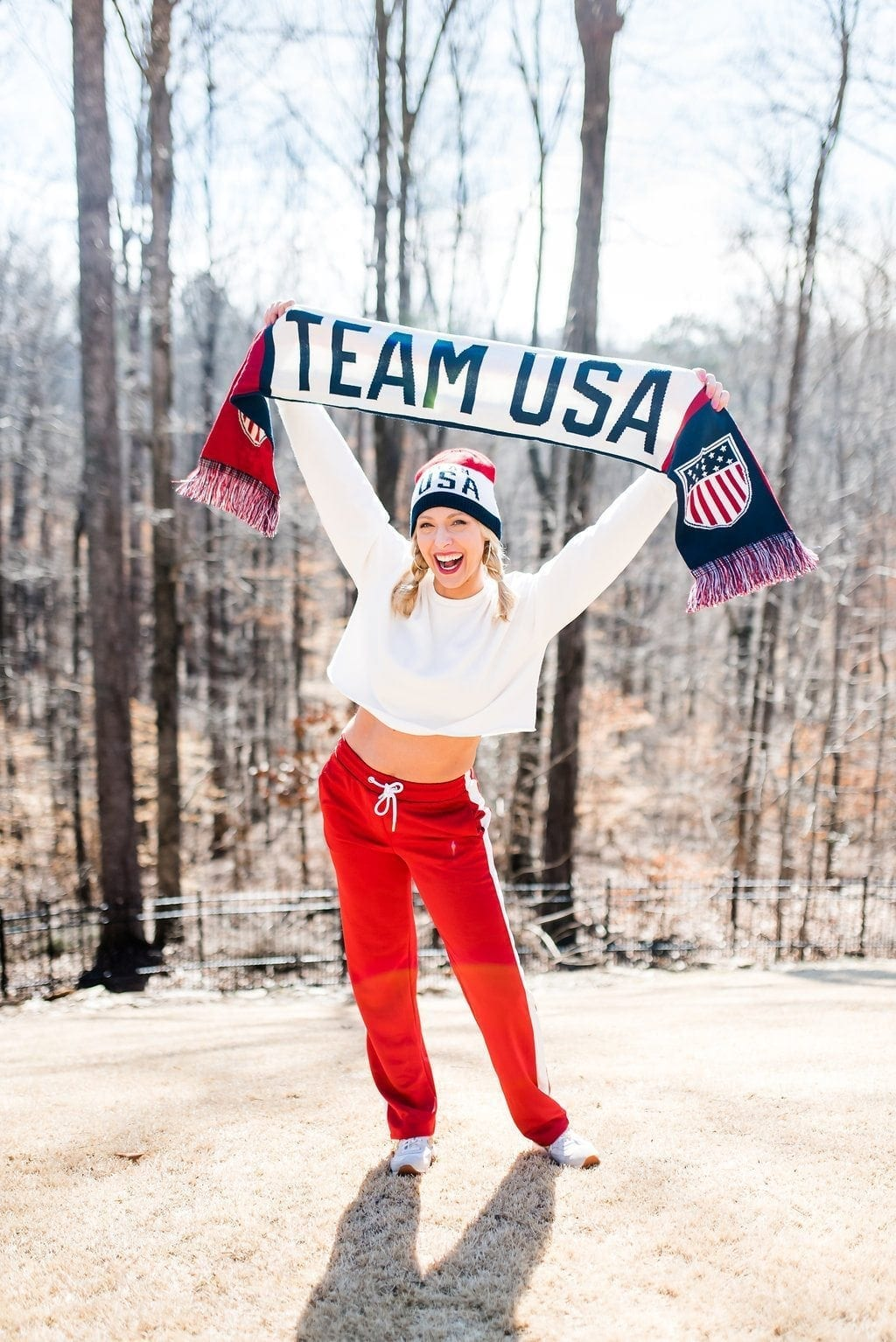 Team USA apparel for the Olympics 2018.