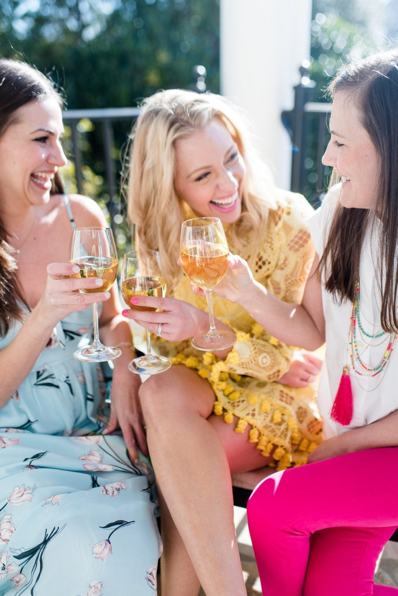 How to throw the perfect party with girlfriends. If you're having your girlfriends over and looking for a great Spotify channel to listen to, here are my favorite songs for summer parties!